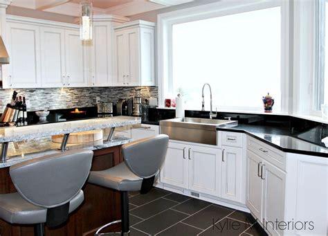 white gray glaze kitchen island with gray marble counter white and gray marble island with black granite