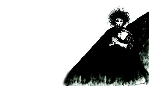 the sandman and the neil gaiman has a great idea for who should star in the sandman film blastr