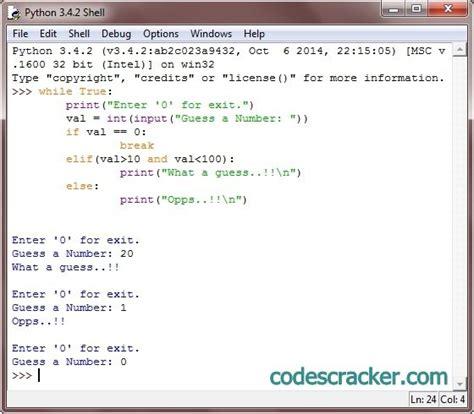 python tutorial questions python programming exle application straight through