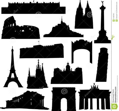 wann wurde europa gegründet construction bien connue en europe illustration de vecteur