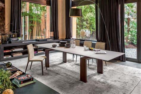 tavoli pranzo design tavolo estensibile in vetro e laminato per uso