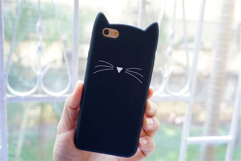 Iphone 6 Plus Soft 3d Cat Ears Sarung Casing buy wholesale cat silicone from china cat silicone wholesalers aliexpress