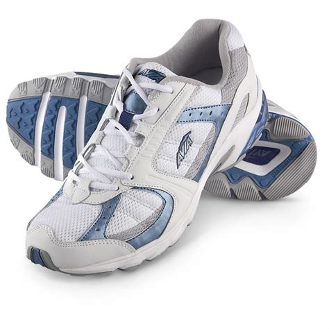 avia shoes s avia 174 running shoes white gray light blue