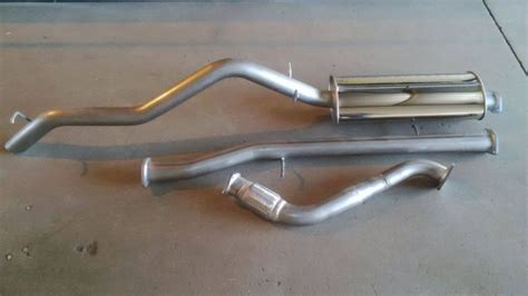 Ford Ranger Headers Ford Ranger And Everest Stainless Steel Performance Exhaust
