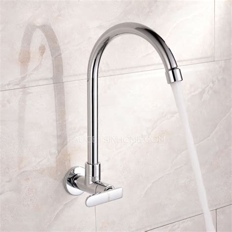 affordable kitchen faucets affordable cold water single wall mount kitchen faucet