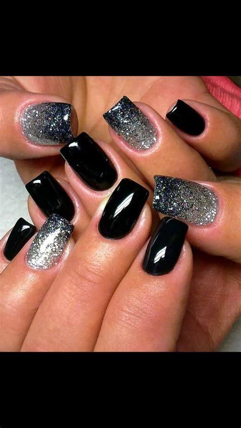 easy nail art designs on black base 25 best ideas about black nails on pinterest black nail