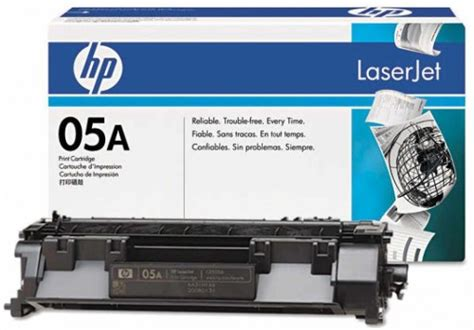 Toner Printer Hp 05 A Original hp 05a black original laserjet toner cartridge price