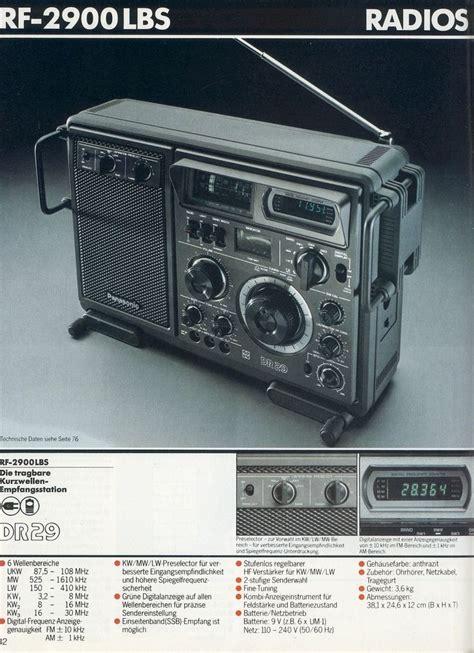 1980 1981 Audio Radios And Audio 1980 1981 panasonic radios audio and tech