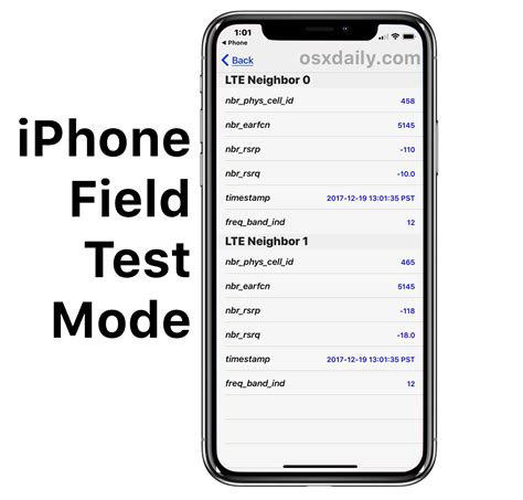 field test mode  ios  ios   iphone