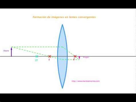 imagenes reales en lentes convergentes formaci 243 n de im 225 genes en lentes convergentes youtube