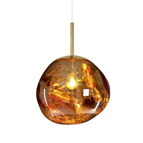 Tom Dixon Mini Melt Ceiling Pendant Light Gold Tom Dixon Pendant Light