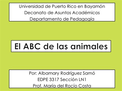 imagenes de animales con w el abc de los animales 1