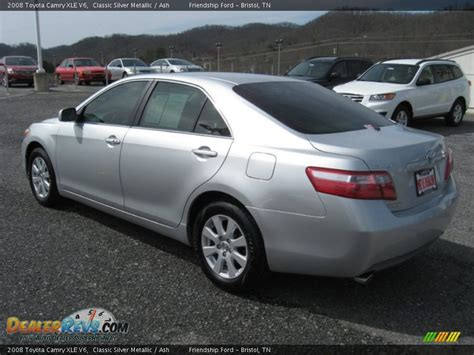 2008 Toyota Camry Xle 2008 Toyota Camry Xle V6 Classic Silver Metallic Ash