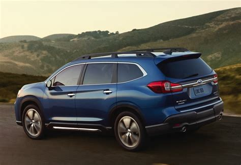2019 Subaru Suv by 2019 Subaru Ascent 8 Seater Suv Officially Unveiled