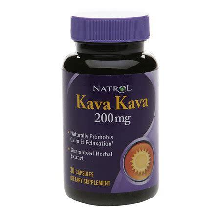 supplement kava natrol kava kava 200 mg dietary supplement capsules