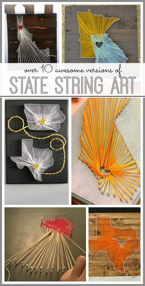 15 ideas to make string arts page 2 of 15 pretty designs