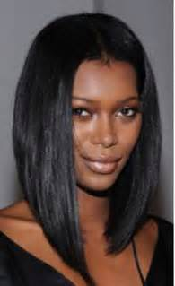 middle part black hairstyles black bob hairstyles with middle part images
