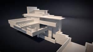 Fallingwater house 3d printable 3d model 3d printable stl cgtrader