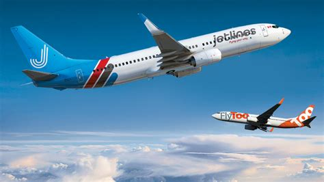 ultra low cost carrier airplanes taking in sky