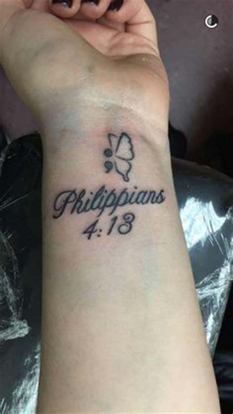 philippians 4 13 wrist tattoo philippians 4 13 tattoos