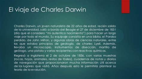 el viaje de la charles darwin el viaje de darwin