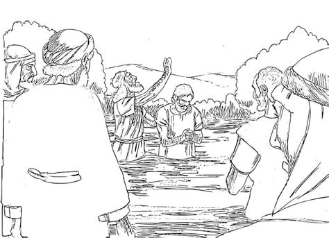 coloring pages john the baptist baptized jesus john the baptist coloring pages coloring page john the