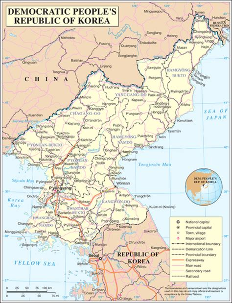 5 themes of geography south korea geography of north korea