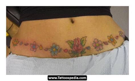 tummy tuck scar tattoos tummy tuck scar 14