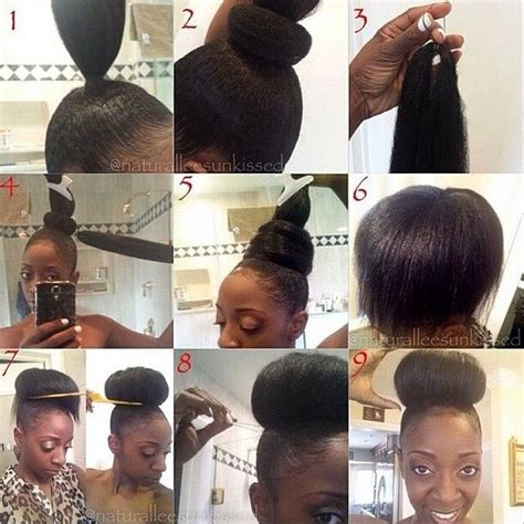 weave for hair buns 17 best images about hair on pinterest bantu knots
