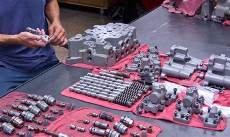 hydraulic main control valve repair remanufacturing rebuild hydraulic valve remanufacturing