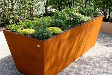 Terrassengestaltung Bilder 3972 by 11 Besten Pflanzringe Und Hochbeete Aus Metall Edelrost