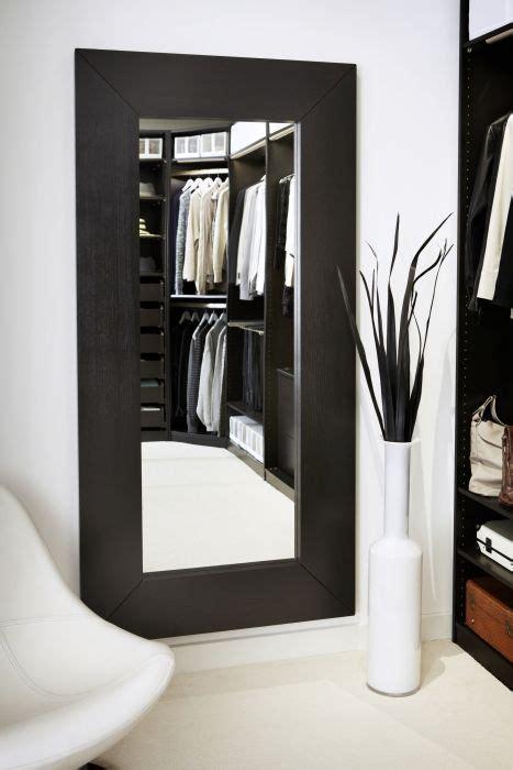 full length mirror in bedroom mongstad mirror black brown
