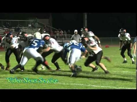 section six football section 5 football batavia vs wellsville youtube