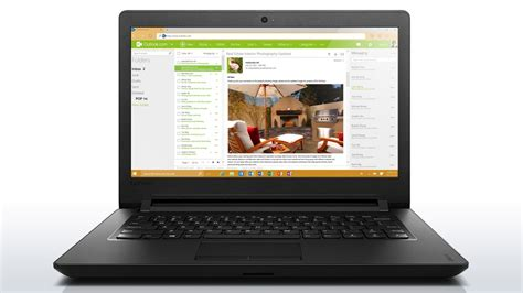 Lenovo Ideapad 110 14ibr 14 Inch Laptop Non Windows Black lenovo ideapad 110 14ibr 80t60052ph 14 inch hd celeron