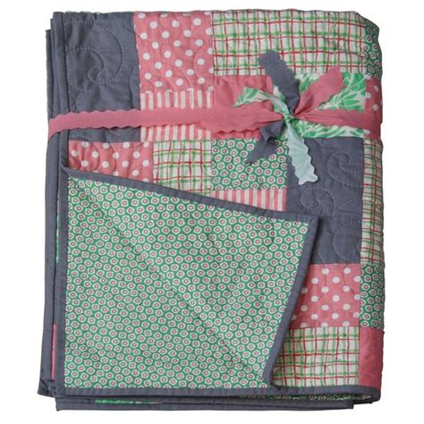 Single Patchwork Quilt - patchwork single quilt arabella hollyjean