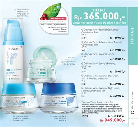 Novage Bright Sublime Brightening Toner 200 Ml katalog oriflame desember 2016 plus katalog mini novage