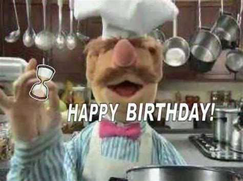 Happy Birthday Swedish Chef Style Youtube