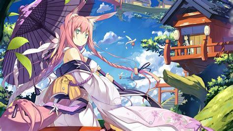 anime girl wallpaper deviantart kitsune anime girl wallpaper wallpaper studio 10 tens