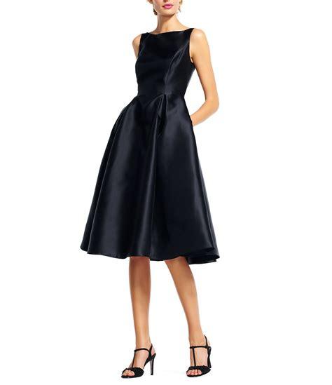 papell sleeveless midi taffeta dress dillards