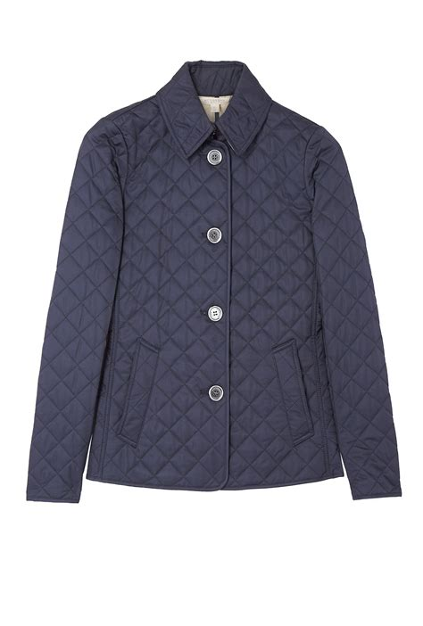 Quilted Jacket Burberry by Burberry Brit Copford Quilted Jacket In Blue Navy Lyst