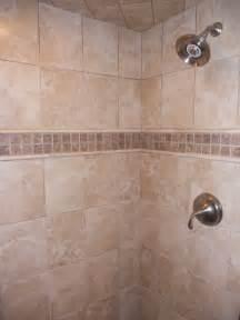Custom tiled showers traditional bathroom