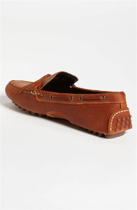 cole haan air grant loafer cole haan air grant loafer in orange for mango suede