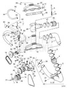 Volvo Penta Parts Diagram Volvo Penta Exploded View Schematic Exhaust And Cooling