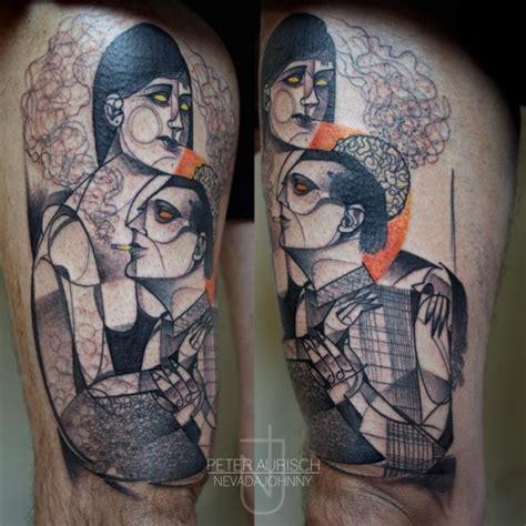 by peter aurisch tattoo as tatuagens abstratas de peter aurisch