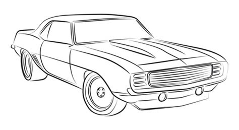 how to draw paint cars books car drawing muscles cars and