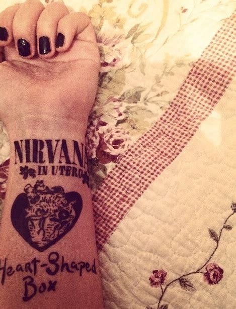 heart tattoo lyrics joyce nirvana heart shaped box tattoo t a t t o o i d e a s