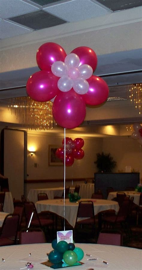 Quinceaneras Centerpieces Balloon Centerpiece With 90 Best Images About Decoracion Para Fiestas On