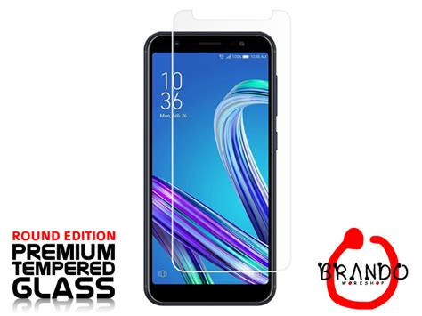Asus Zenfone Max Zc550kl Tempered Glass Curved Edge 9h 0 26mm T1910 4 brando workshop premium tempered glass protector rounded edition asus zenfone max m1 zb555kl