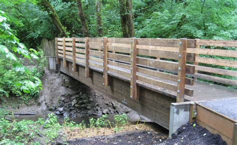 how to build a wooden bridge diy how to build a wooden bridge over a creek plans free