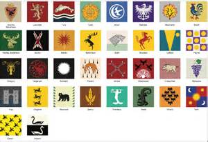 House Designer Game game of thrones house sigils eps vector file by